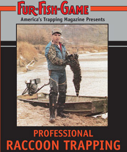 Fur Fish Game Professional Raccoon Trapping DVD PRT